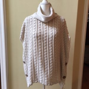 Catherine Lillywhite's Cowl Neck Cape Sweater